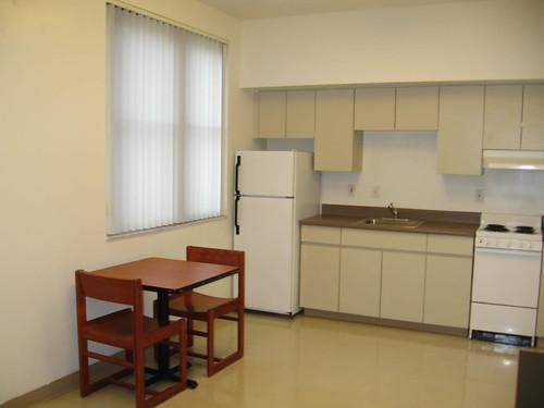 Upt studio kitchen table fiu housing flickr for Studio apartment kitchen table