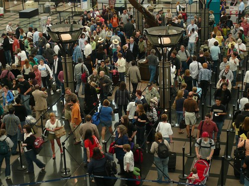 Denver Airport Security Lines | by alist