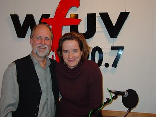 Susan Werner with John | by wfuv