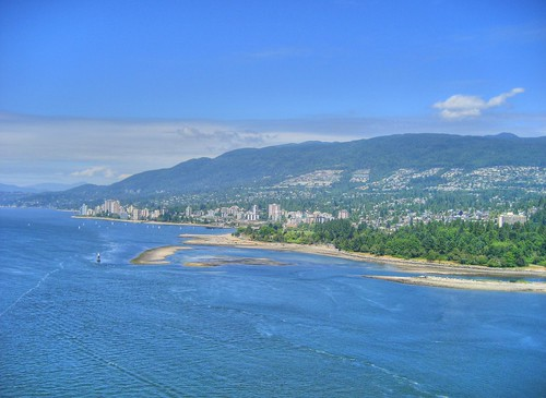 West Vancouver from the Lion's Gate Bridge | by keepitsurreal