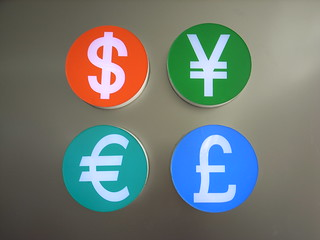 Currency signs | by nicolasnova