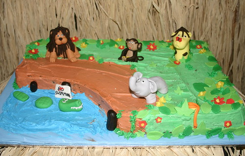 Jungle Sheet Cake | by kelannfuller