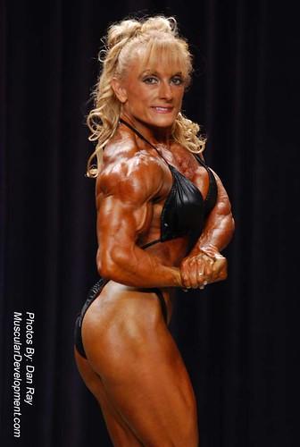 Female bodybuilder lisa cross naked workout - 4 3