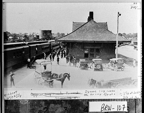 Depot Winder Georgia Ca 1910 1920 Photograph Of