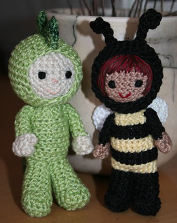 Size 3 Thread Crochet Luke & Alexa | by *mia*