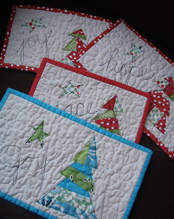 mini christmas quilts | by Jacquie G