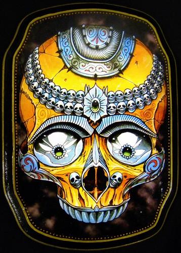 tattoo art damien friesz tibetan kapala star of texas flickr. Black Bedroom Furniture Sets. Home Design Ideas