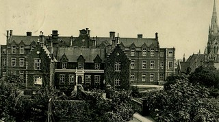 The German Hospital, Dalston. North side. 1906 Postcard | by sludgegulper