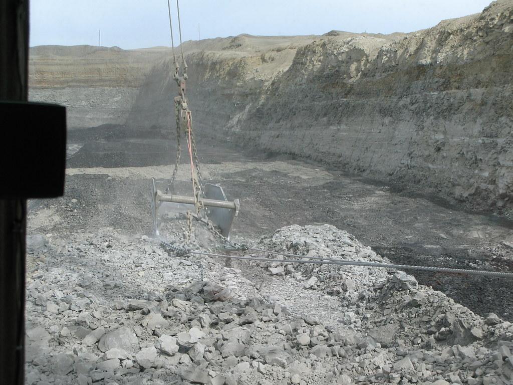 navajo mine marion 7920 dragline kelly michals flickr