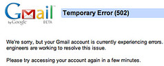 Gmail Borked | by rustybrick