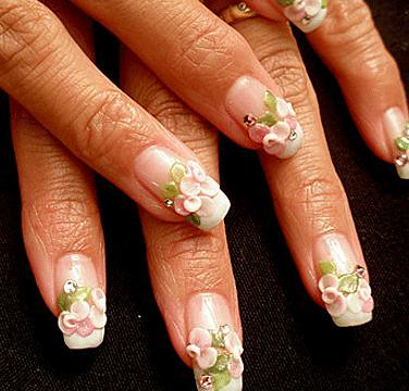 Long 3d Nail Art Designs Hession Hairdressing