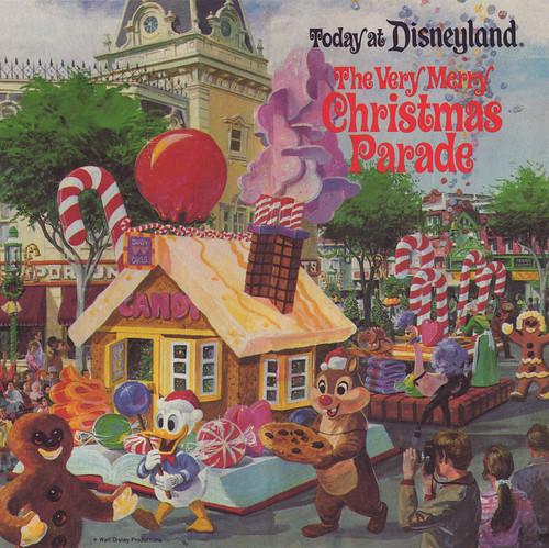 Disney S Very Merry Christmas Party Tickets: Disneyland Christmas Parade 1977