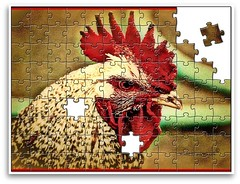 Rooster jigsaw | by wade in da water