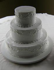 Wedding Cake Filigree Patterns