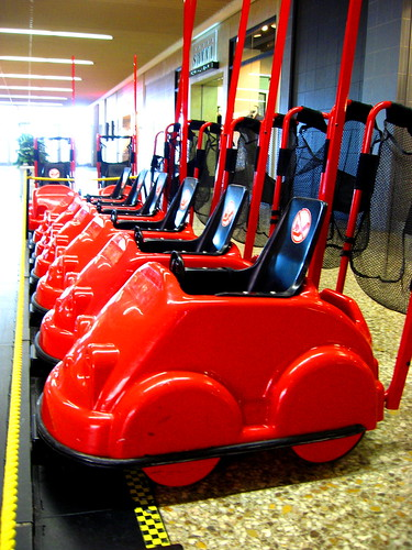 Red Car Strollers | by The Joy Of The Mundane
