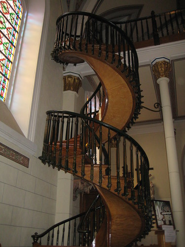 Miraculous Staircase In Loretto Chapel | by puroticorico