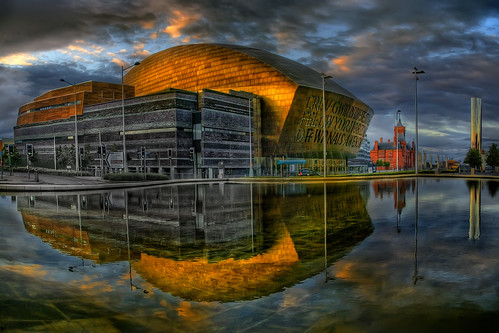 Wales Millennium Centre & Torchwood HQ | by wentloog