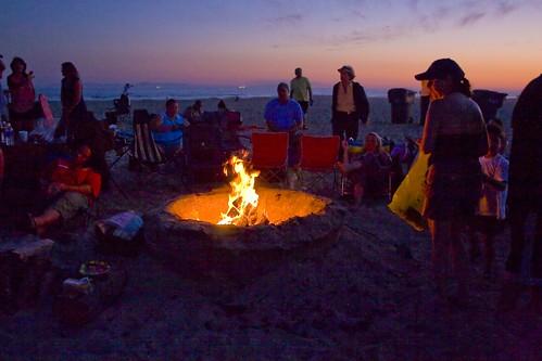 Beach Fire Pit | In Huntington Beach, California. | Robert ...
