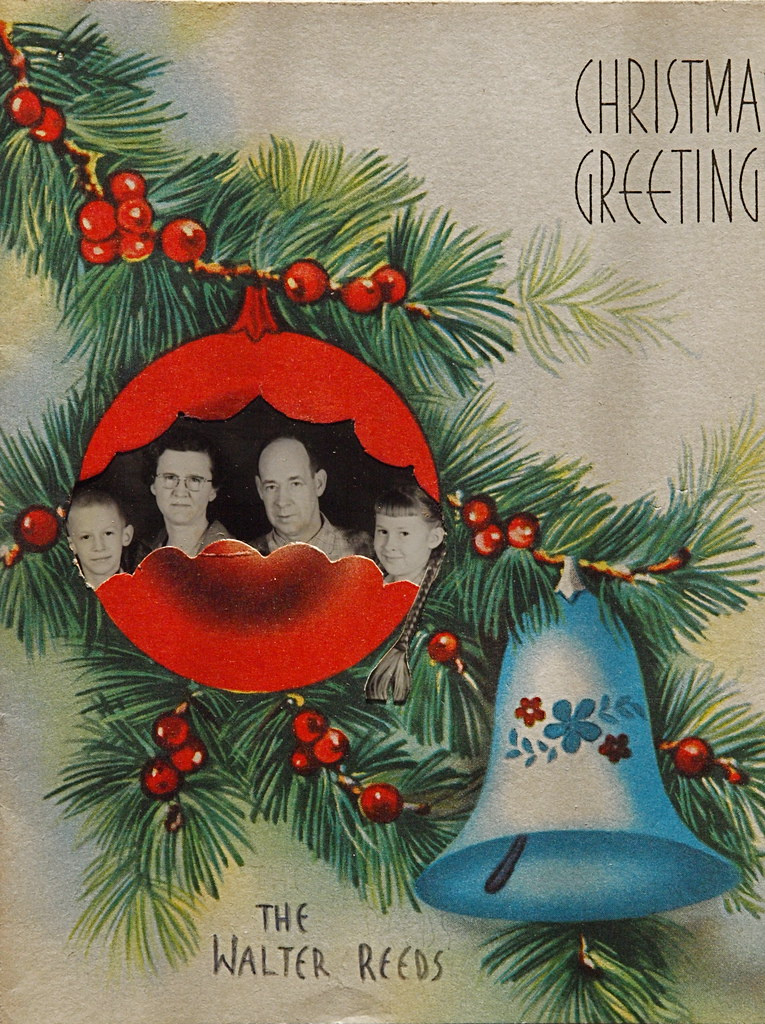 Original of a Reed family Christmas card | Hard to imagine t… | Flickr