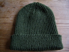 boring ribbed hat | by knitfaced
