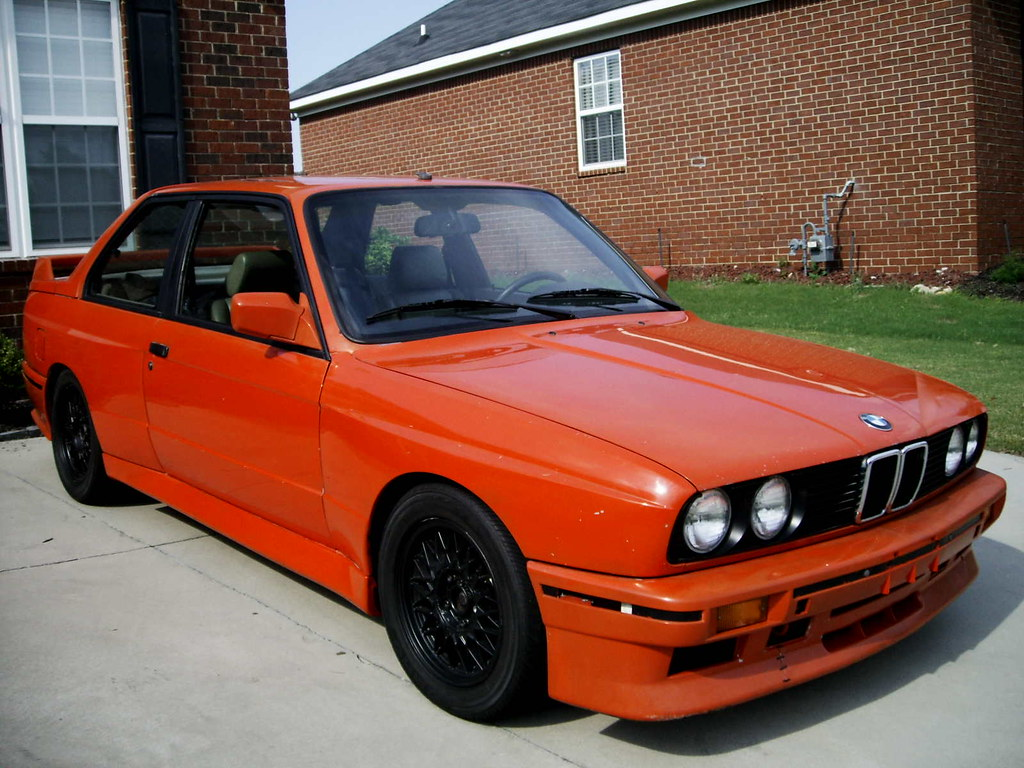 1988 BMW E30 M3 For Sale Race Car Project Henna Red Front | Flickr
