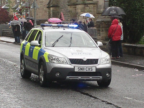 CENTRAL SCOTLAND POLICE SKODA OCTAVIA NEW | by Emergency999 UK