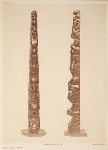 Haida slate carvings description this image was taken c