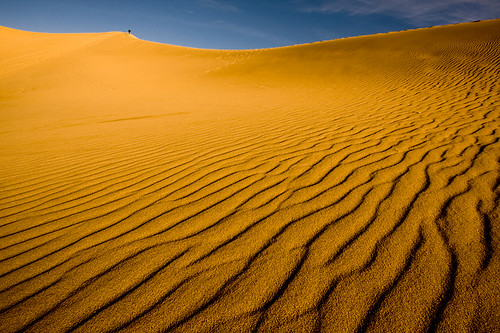 How far is 'too far'? - Mesquite Flat Dunes, Death Valley National Park | by Raj Hanchanahal Photography