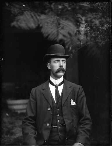 Portrait of a man in suit with waistcoat | by Powerhouse Museum Collection