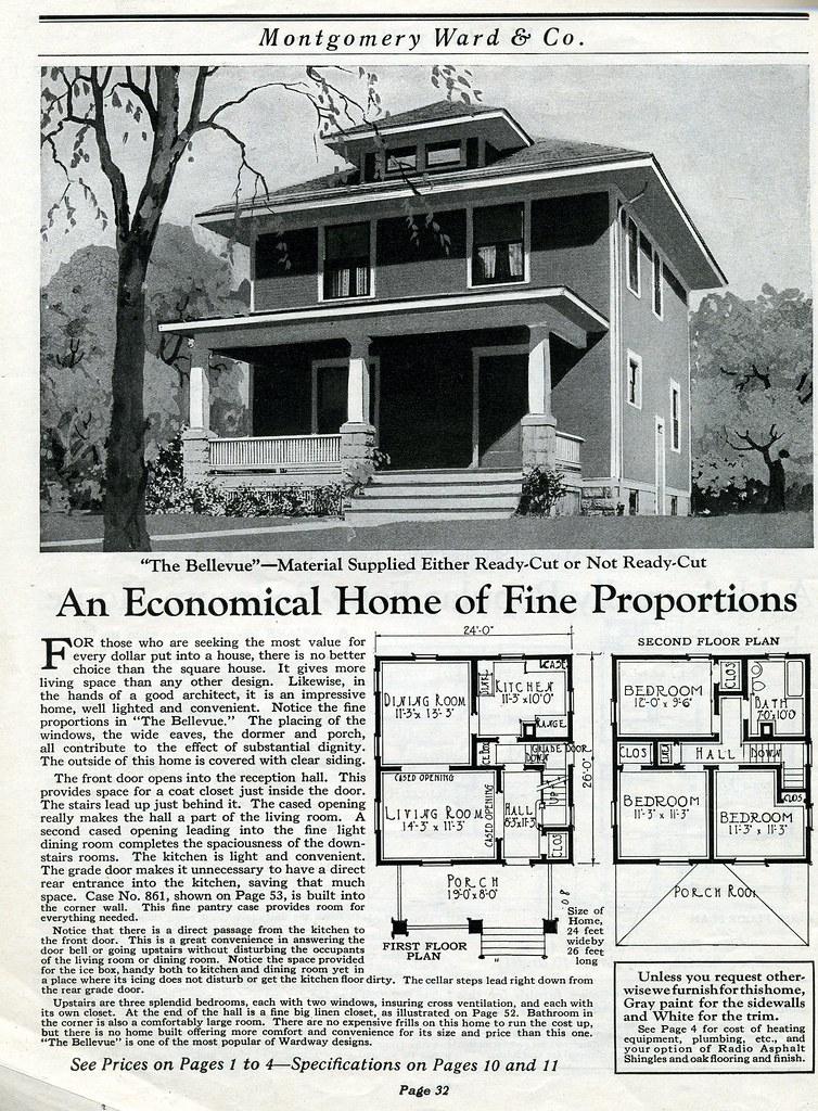 Antique House PlansAntiqueHomeorg The Bellevue ModelV Flickr