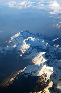 Land from the air: Alps | by Gillimcg