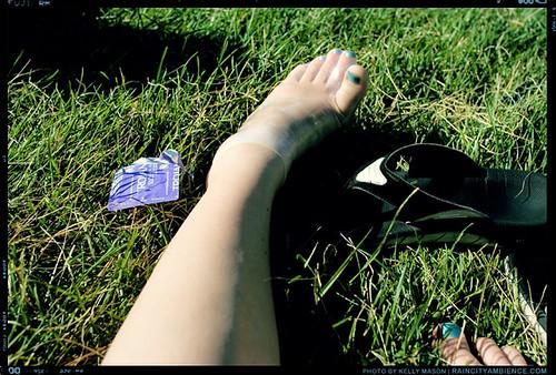condom foot