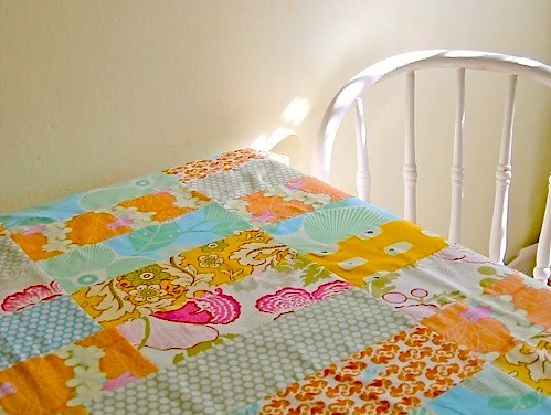Patchwork Tablecloth | by Cindy {K}