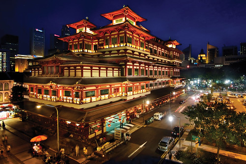 The Grand Buddha Tooth Relic Temple & Museum, Singapore | by williamcho