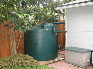 Rain water collection system - 1000 gallon poly - irrigation | by watercache.com