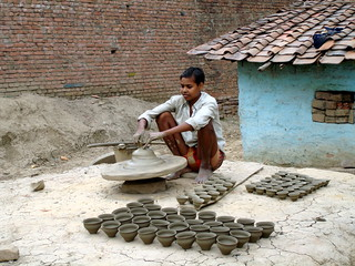 Clay Cup Making | by amangla007