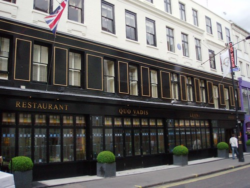 Quo Vadis Restaurant Dean Street London