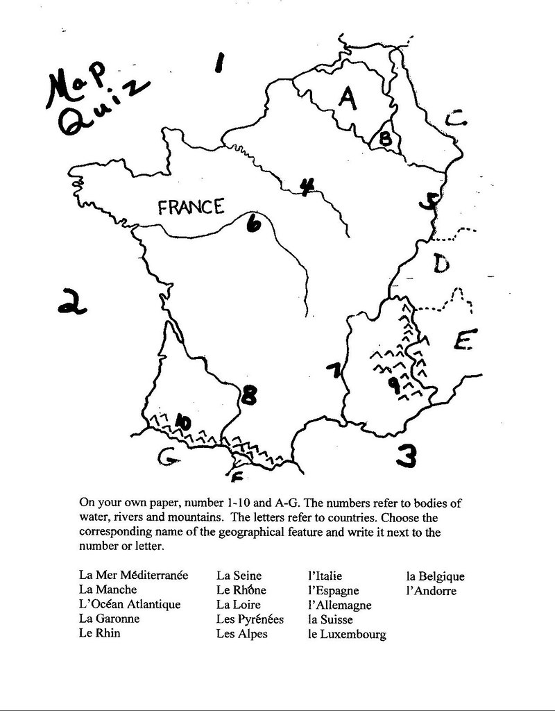 France Map Quiz.Map Quiz Of France Onsdurti Flickr