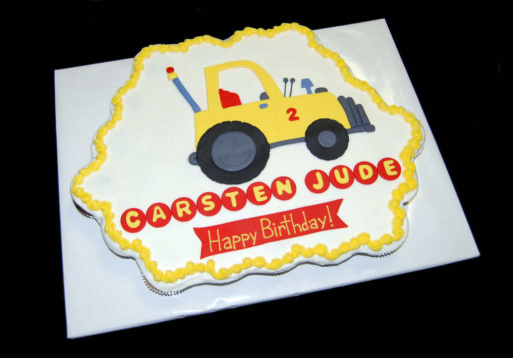 Tow Truck Birthday Cupcake Cake Read More About Our Creati Flickr