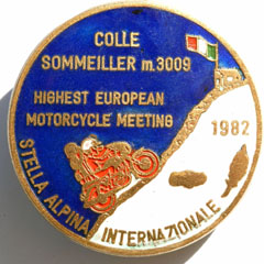 Stella Alpina Colle Sommeiller highest european motorcycle meeting 1982 Bernhard Egger :: ru-moto images | by :: ru-moto images