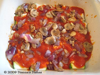 "Vegetable ""Lasagna"": Ready for Cheese 