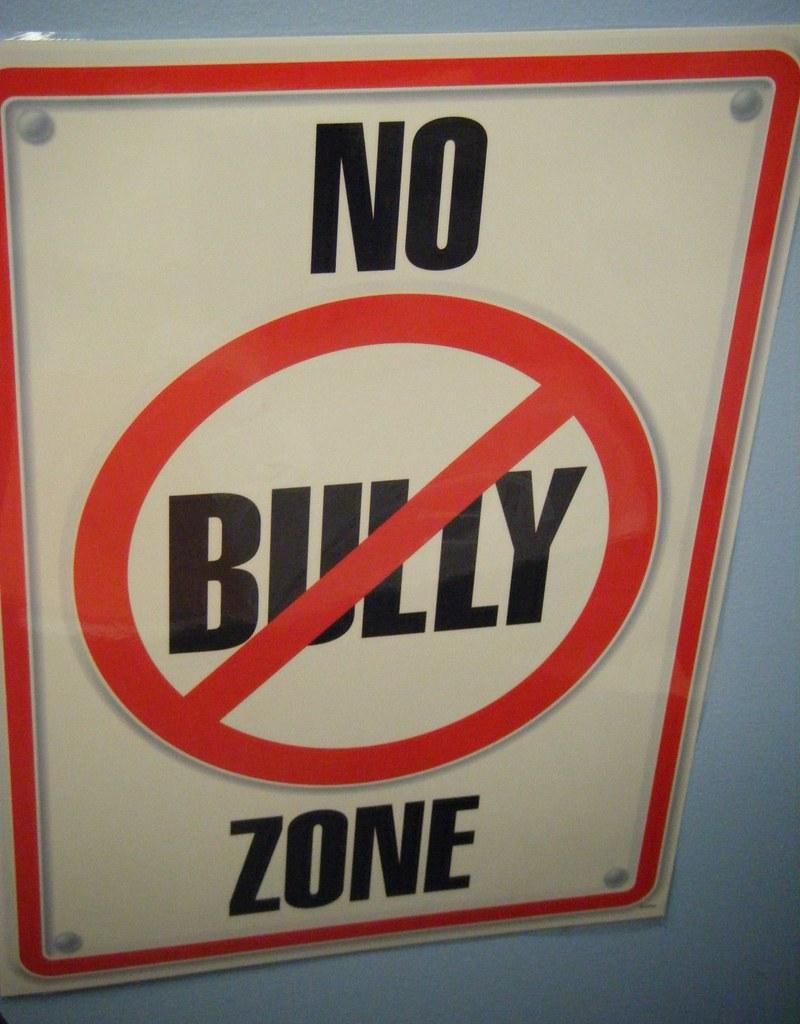 No Bully Zone | Schu | Flickr