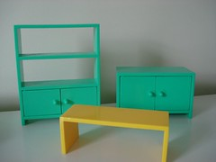 Ikea Dollhouse Furniture  Lounge Furniture and Coffee Table  Flickr