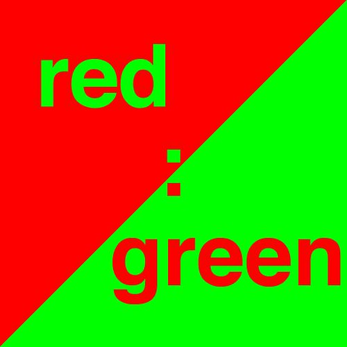 red:green large icon   Large icon for red:green iPhone app ...  red:green large...