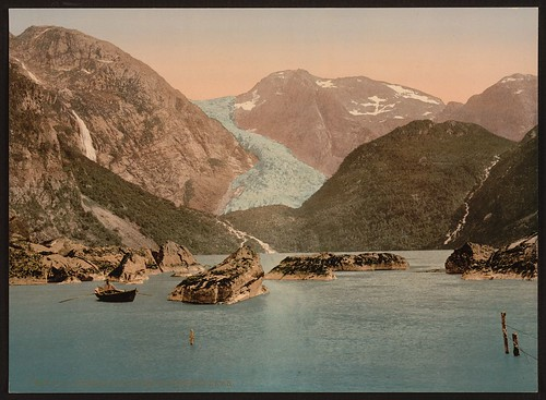 [Bondhus glacier and lake, Hardanger Fjord, Handanger, Norway] (LOC) | by The Library of Congress