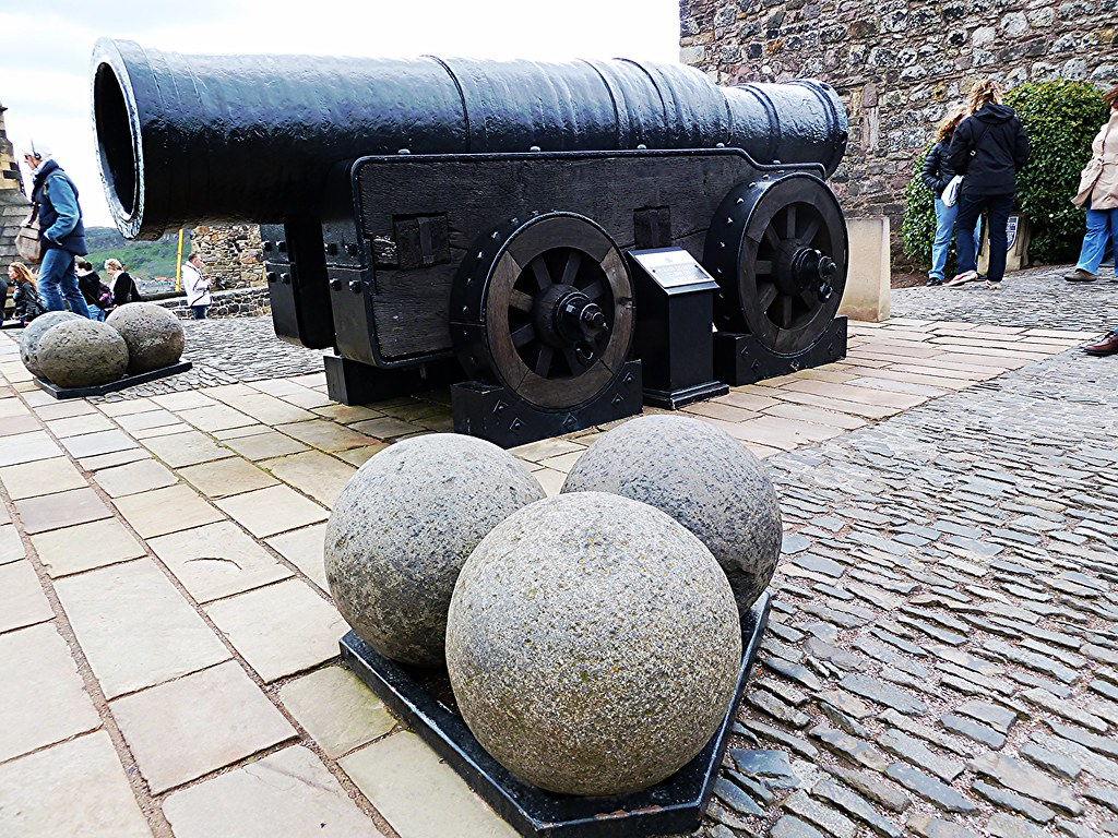 Mons Meg Cannon at Edinburgh Castle