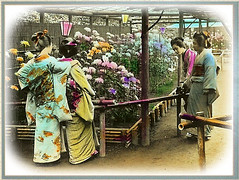 Geisha at the Flower Show - Yokohama | by Okinawa Soba (Rob)