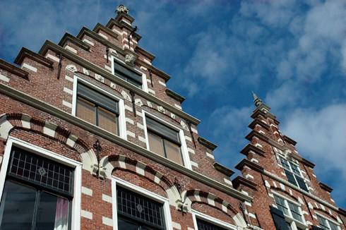 Haarlem arquitectura t pica holandesa con pi on for Arquitectura holandesa
