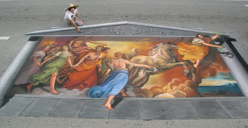 3D Street Painting - Aurora | by Tracy Lee Stum