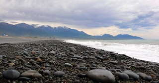 black rock beach, kaikora | by hopemeng
